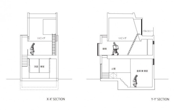 Outdoors Indoors House - японский жилой дом для любителей активного отдыха