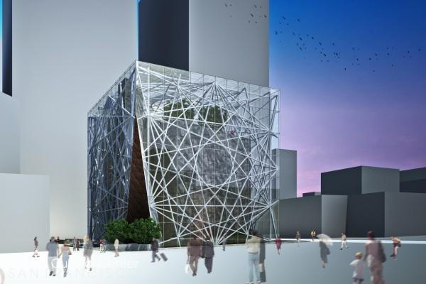 Проект центра Islamic Cultural Center San Francisco в Сан-Франциско (США)