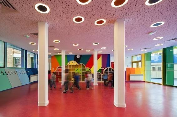 Реконструкция парижского детского сада Pajol от Palatre and Leclere