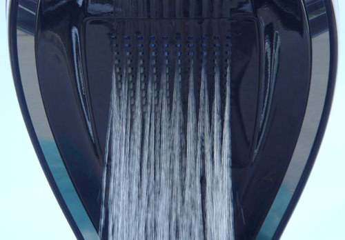 PalmShower – открытый душ с дистанционным управлением от Dometti