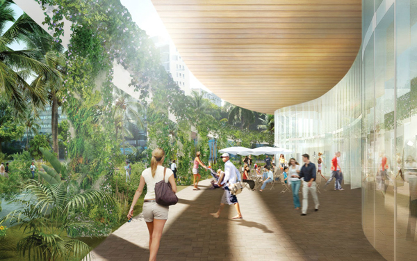 Зеленый проект многоквартирного дома Parcel D в Сан-Хуане (Пуэрто-Рико)