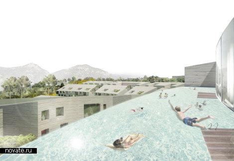 Проект микрорайона Park Life. Комфортное место для жизни и отдыха от JA Joubert Architecture