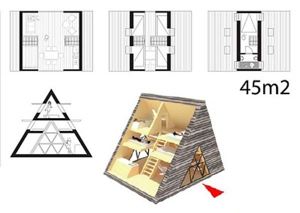 Peak – сборный загородный дом для жизни и активного отдыха от Visiondivision