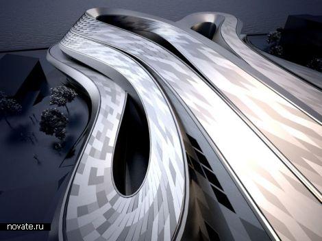 Проект художественной галереи Perceptual Twist от Parabol Studio
