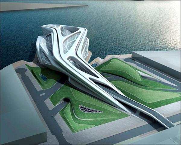 Проект Performing Arts Centre в Абу-Даби от Захи Хадид (Zaha Hadid)