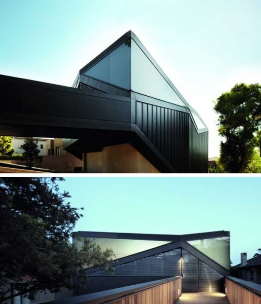 Жилой дом Pitched Roof House от Chenchow Little Architects