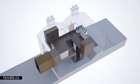 «Пластиковая» реконструкция старинного здания от Architecture Republic в Дублине
