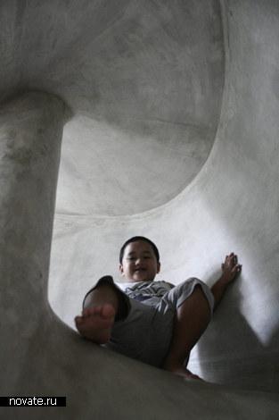 «Тайная пещера». Жилой дом Play House от Aboday