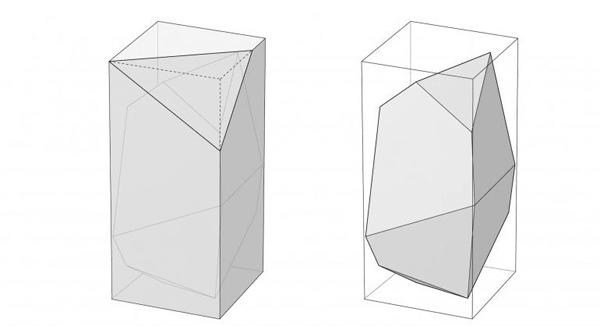 Жилой дом-консоль Polyhedra от Axis Mundi