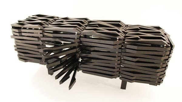 Комод Porcupine Cabinet от Себастьяна Эрразуриса (Sebastian Errazuriz)