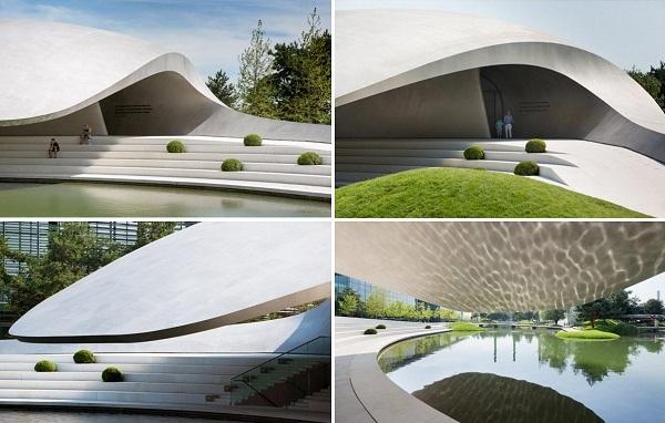Динамичная архитектура нового салона