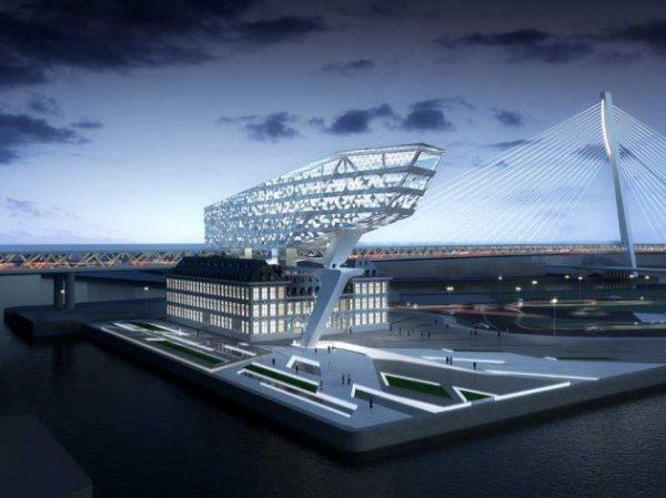 Архитектурная эклектика от Захи Хадид (Zaha Hadid). Проект штаб-квартиры Port House в Антверпене