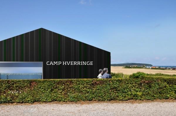 Camp Hverringe – минималистский сборный кемпинг на острове Фюн (Дания)