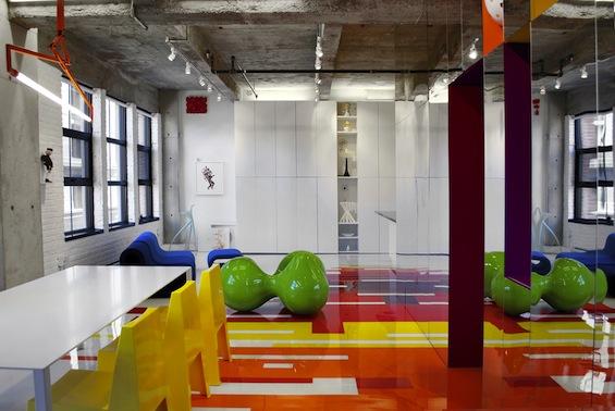 Loft Couleurs Prismatiques - многоцветный лофт в Монреале