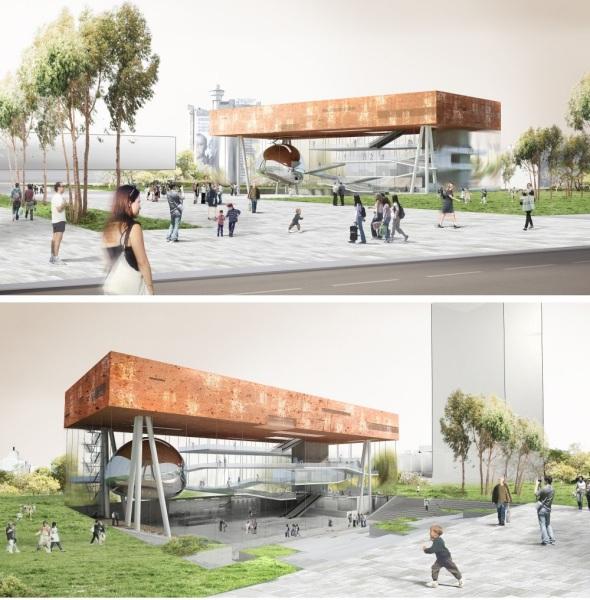 Проект белградскоо центра Center for Promotion of Science от сербских архитекторов