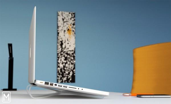 Портативная подставка для ноутбука The Prop