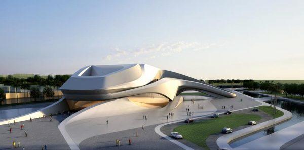 Проект Rabat Grand Theatre от Захи Хадид (Zaha Hadid) в Марокко