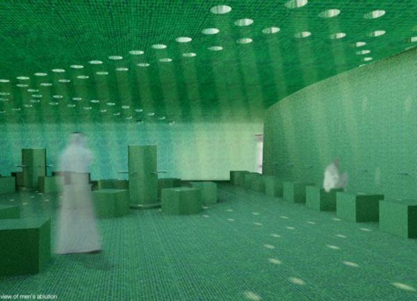 «Луч света» в Дубайе. Проект современной мечети Ray of Light от ZEST Architecture