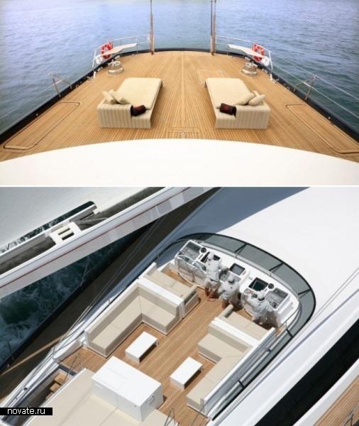 Яхта Red Dragon («Красный дракон») от Wilmotte & Associates и Alloy Yachts