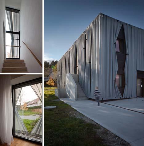 Жилой дом Residential Reskin - реконструкция от Hertl Architekten