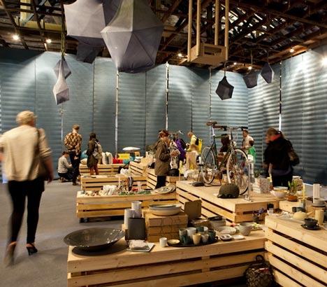 Richmond Weekender – креативный временный комплекс от австралийских архитекторов