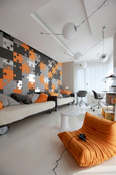 Креативная детская комната от российских архитекторов