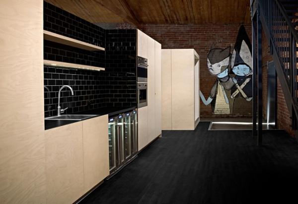 Офис и фотостудия в бывших складских помещениях Мельбурна