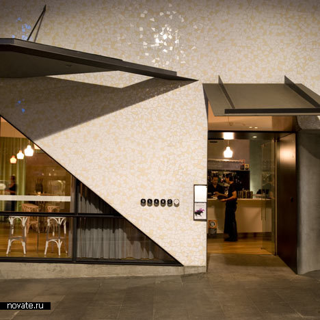 Ресторанный комплекс Roslyn Street Bar от Durbach Block Architects в Сиднее