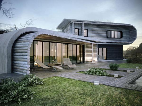 S-house - загородный дом от KO+KO Architects