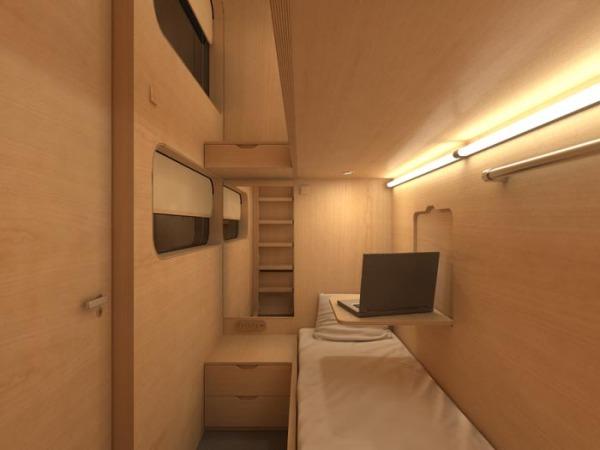 SLEEP BOX – модуль для отдыха в публичных местах от Arch Group