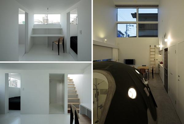 Ground and above roof house – жилой дом от SPACESPACE в Японии