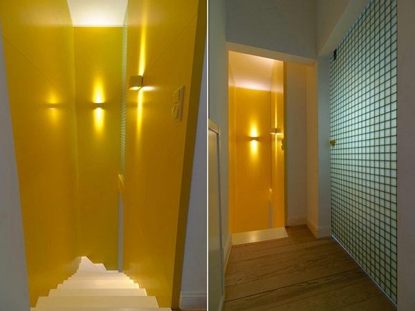 Квартира Stair Case Study House 01 от Герда Стринга (Gerd Streng)