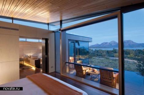Saffire Freycinet Resort.. Абсолютно тасманский курорт от Morris Nunn and Associates