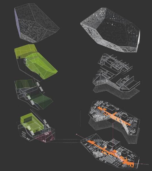 Проект культурно-развлекательного центра Saint-Malo Mediatheque от Serero Architects