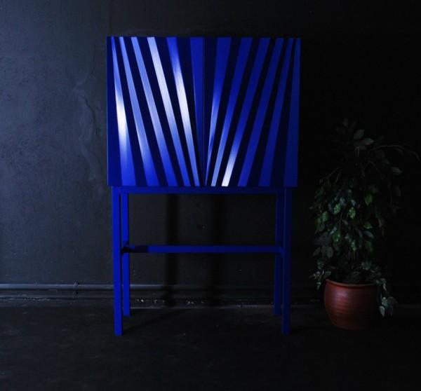 Sapphire cabinet – психоделический кабинет для дома и офиса от Маркуса Йоханссона (Markus Johansson)