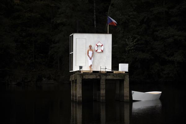 Чешская «Сауна для всех» от Mjolk-Architects