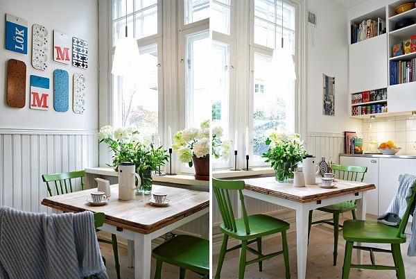 Скандинавский стиль в оформлении интерьера городской квартиры