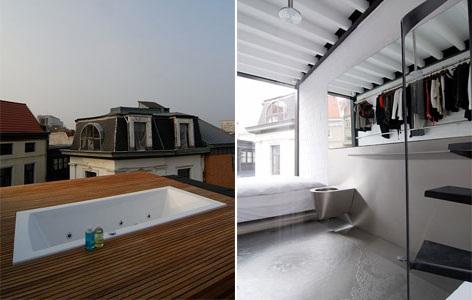 Жилой четырехэтажный дом от Sculp(IT) в Бельгии