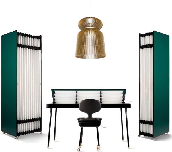 Selfdiscipline – коллекция регулируемой мебели для домашнего мини-офиса от Ники Зупанц (Nika Zupanc)