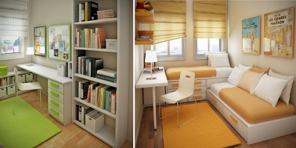 Дизайн детских маленьких комнат фото