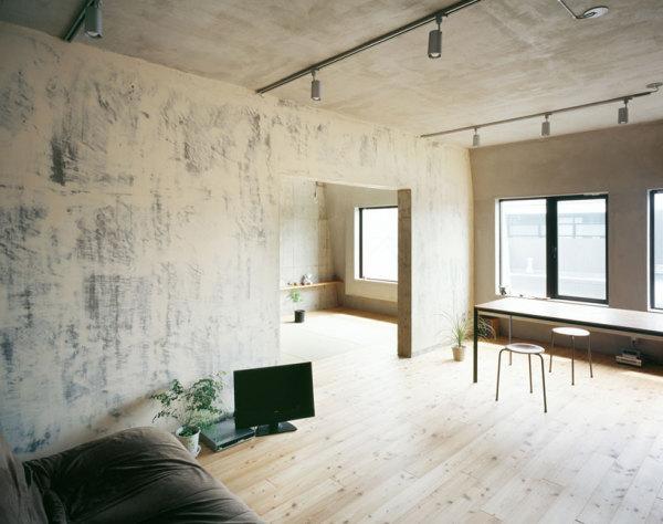 Интерьер квартиры Setagaya flat от Naruse inokuma architects и Hiroko karibe architects