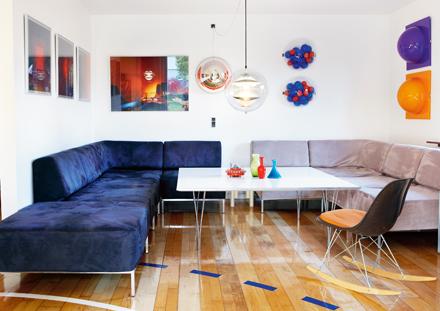 Интерьер в стиле культуры семидесятых от скандинавских дизайнеров