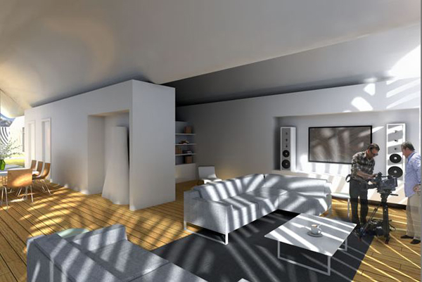 House in Shadow – инновационный загородный дом для одной семьи
