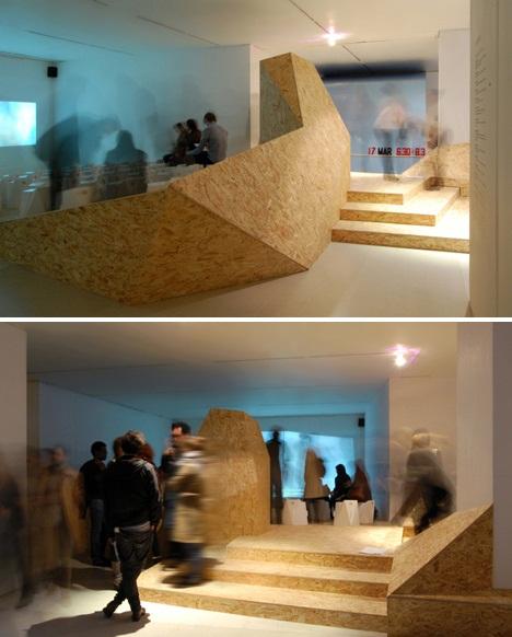 Shadowboxing - временная функциональная инсталляция от лондонских дизайнеров