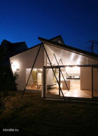 Жилой дом Shell House от Far East Design Lab в Японии