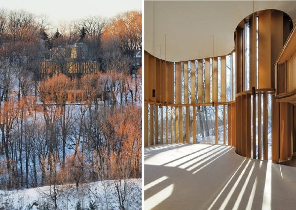 Лесная вилла Integral House от Shim-Sutcliffe Architects в Канаде