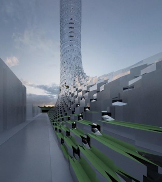 """Новый """"Шелковый Путь"""". Футуристический проект города будущего от OFL Architecture"""