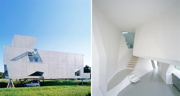 Жилой дом Single Family House St Joseph от Wolfgang Tschapeller Architekt в Австрии