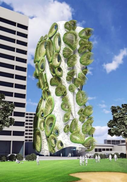 Жилой дом Sky Condos – органическая архитектура от американских архитекторов