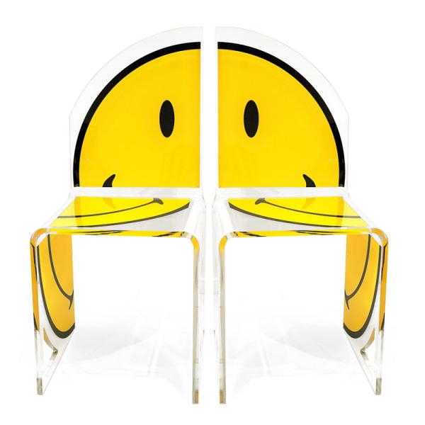 Smiley – коллеция креативной мебели от Acrila